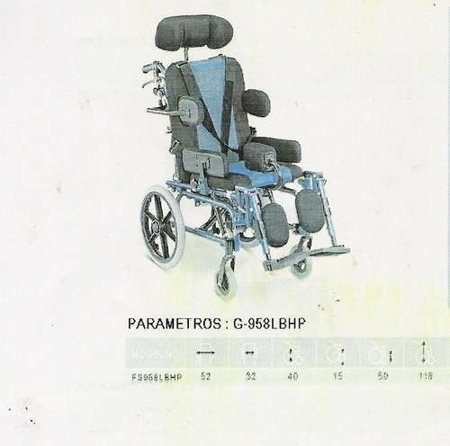 silla ruedas neurologica infantil-adolecente full
