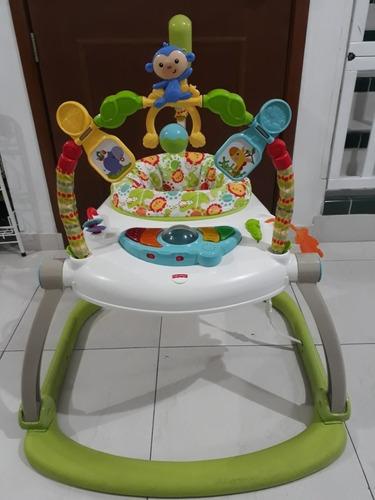 silla saltarina musical gimnasio fisher price como nuevo