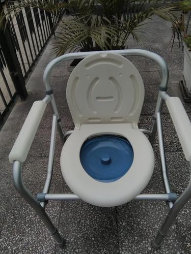silla  sanitario  aluminio  importado