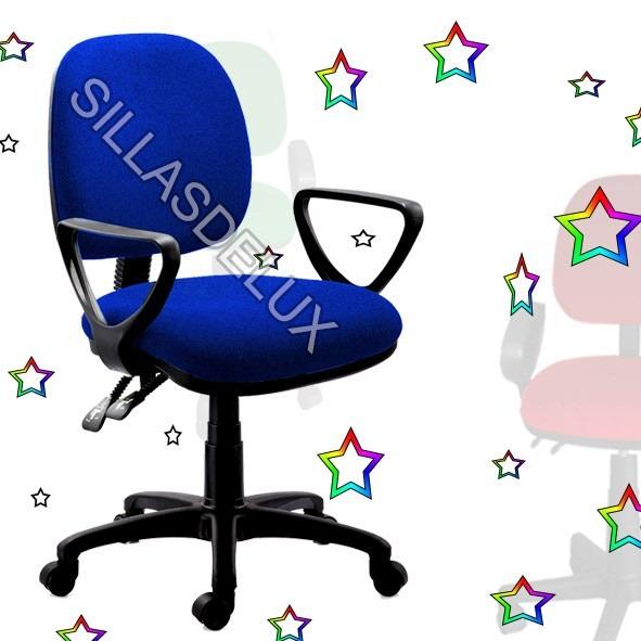 Silla secretarial oficina cyber colegios universidad for Silla universidad