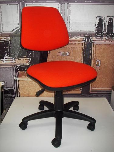 silla secretarial operativa mec2 palancas color negro s/b