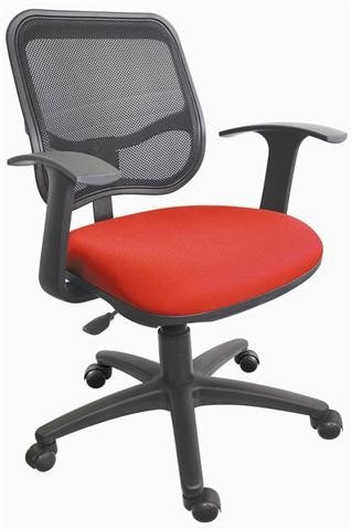 silla secretarial operativa respaldo en malla ergonomica