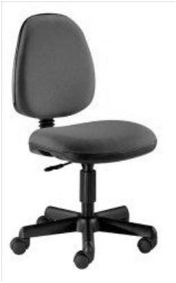 silla secretarial (sin brazos)