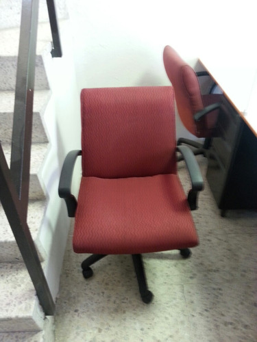 silla secretarial usada