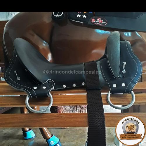 silla semiforrada para caballos de coleo y trabajo aperos