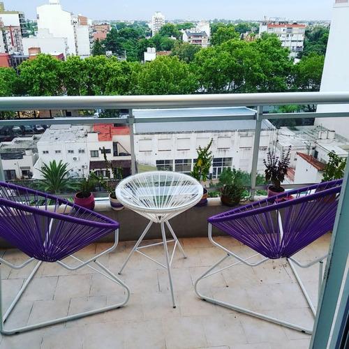 silla sillon acapulco  2+mesa juego jardin interior/ext