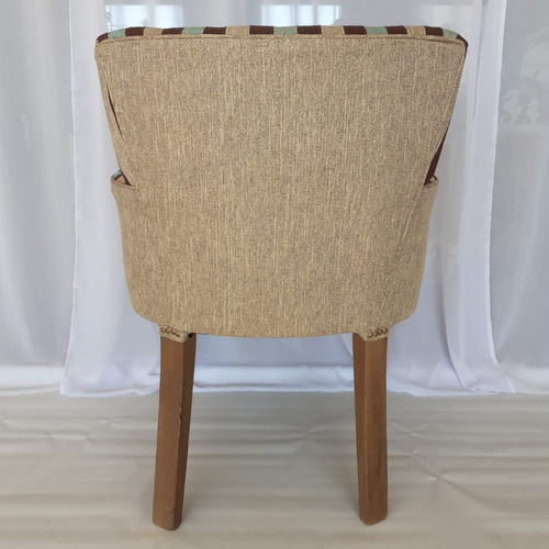 silla sillon cabecera puntera apoyabrazos chenille premium