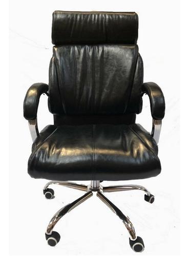 silla sillon de escritorio oficina ejecutivo negra c823