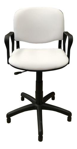 silla sillón de peluquería barbería neumática - oferta envío gratis - tapizada giratoria