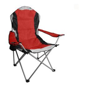 Silla Sillon Director Plegable Confort 130 Kg Camping Funda