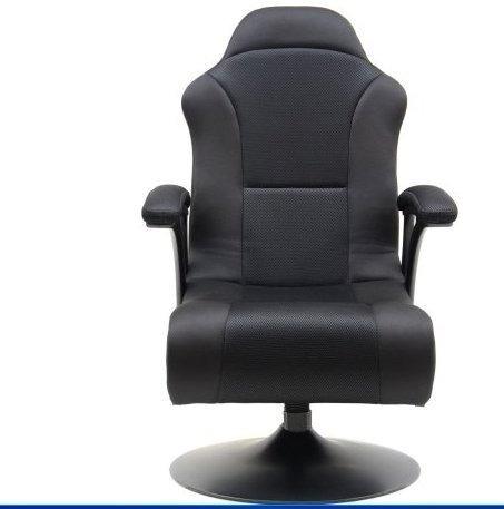 silla sillon gamer lujo videojuegos x rocker bocinas nuevo