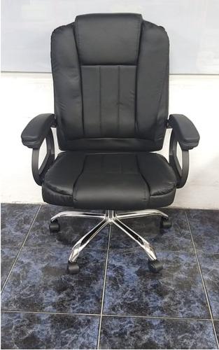 silla sillon gerencial reclinable masajeador ergonomica