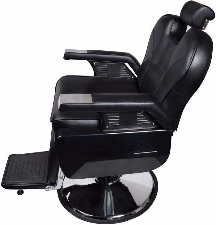 Silla sillon hidraulica reclinable estetica salon barberia for Sillas para barberia