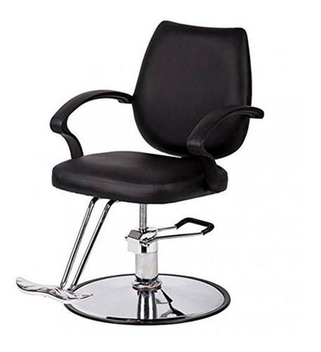 silla sillón hidráulico con apoyapie p/ peluquería barbería