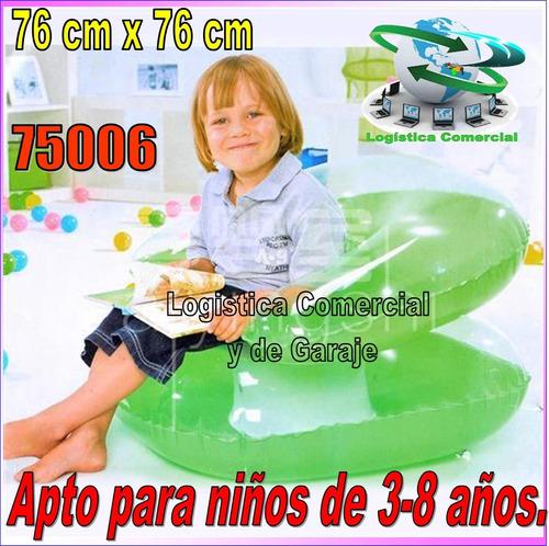 silla sillon inflable para niños hogar piscina bestway 75006