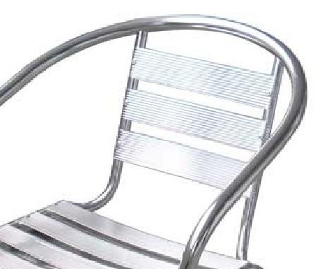 silla sillon jardin aluminio 7 tablas 15706 laury envio **10