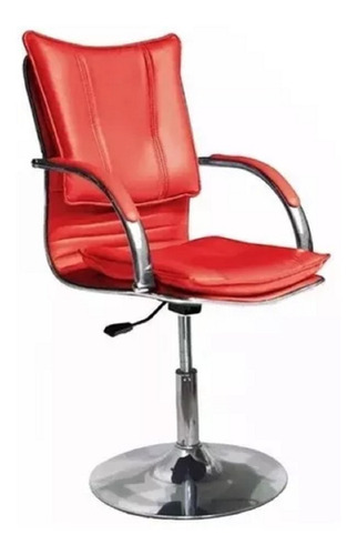 silla sillon peluqueria disco 40cm - celeste