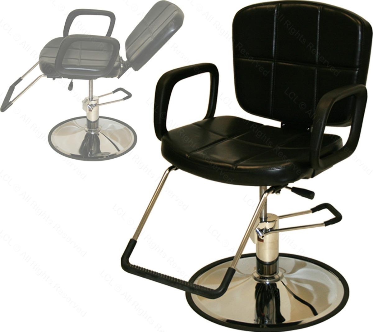 Silla sillon peluqueria hidraulico y reclinable for Sillas para tatuar