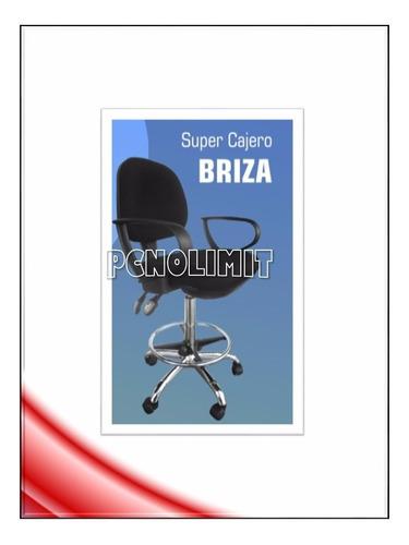silla super cajero brizza oficina caja recepcin pcnolimit mx