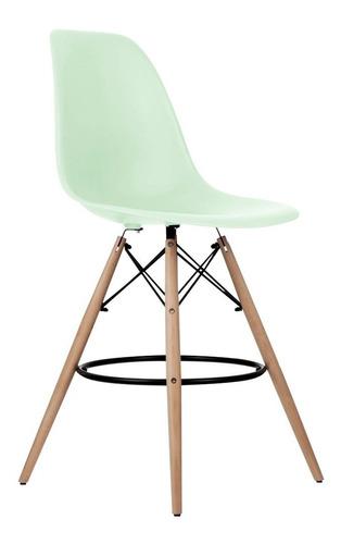 silla taburete alta eames bar menta verde 831615 fernapet
