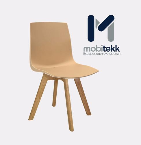 silla taka patas madera hogar oficina comercial estudio