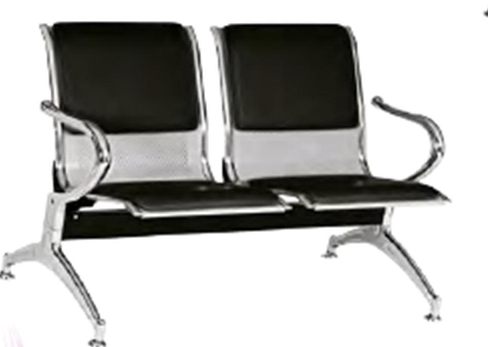 Silla tandem 3 asientos salas de espera consultorios for Asientos de oficina