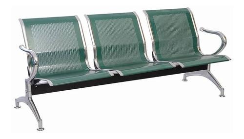 silla tandem 3 puestos espera alto trafico metalica aaa