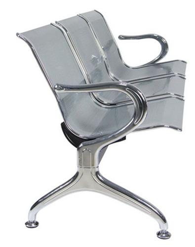 silla tandem ideal para salas de espera.