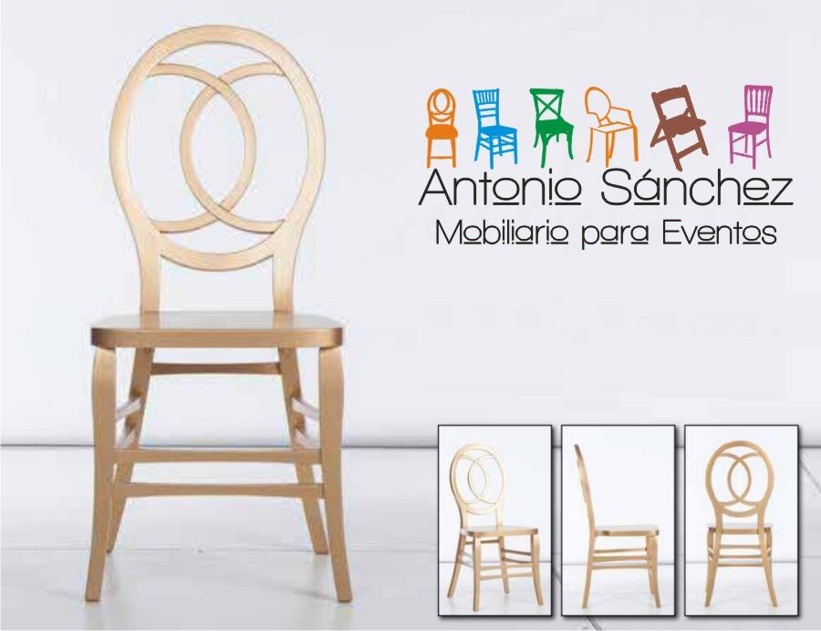 Silla tiffany dco casa oficina restaurant madera 877 for Silla oficina madera