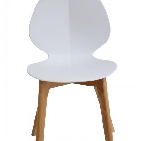 silla tipo adelaide blanca