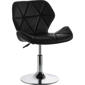Espaldar Sala Oficina Puff Y Moderna Silla Tipo Negra Para UVzqSpM