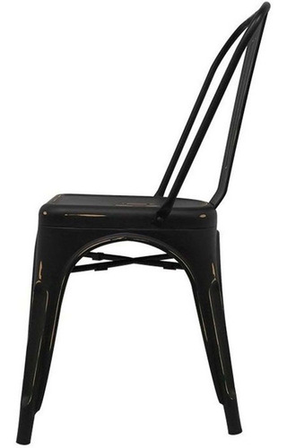 silla tolix acero vintage casa comedor hogar 4 pz restaurant