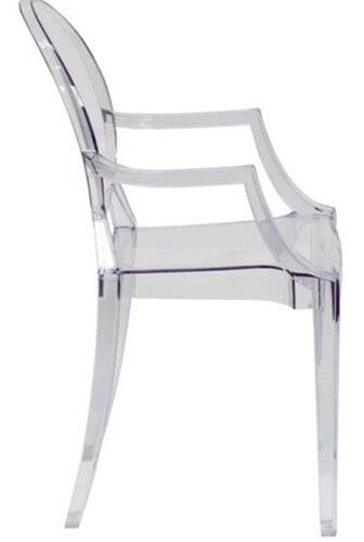 silla transparente fantasma decorativa flash furnitures