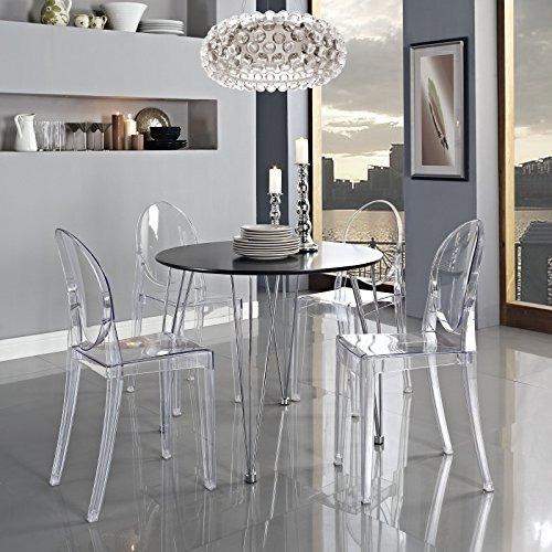 Silla Transparente Para Comedor, Modway - $ 618.550 en Mercado Libre