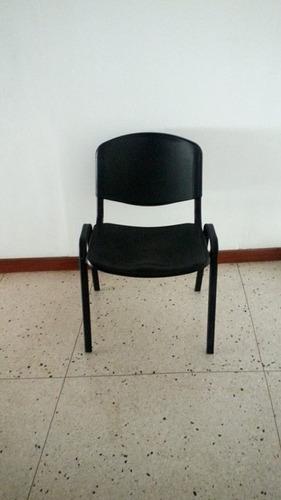 silla tubular 4 patas
