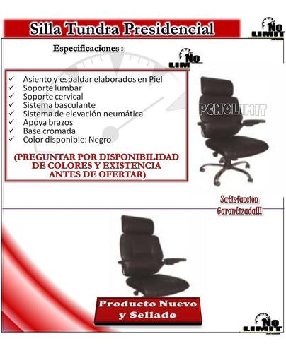 silla tundra presidencial oficina conferencias pcnolimit mx