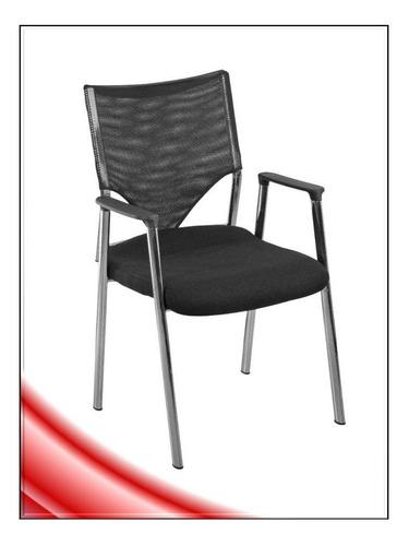 silla turin base cromada visitante oficina sala pcnolimit mx