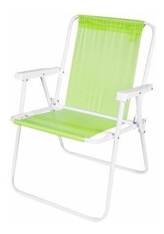 silla ultra liviana aluminio sannet playa pileta camping