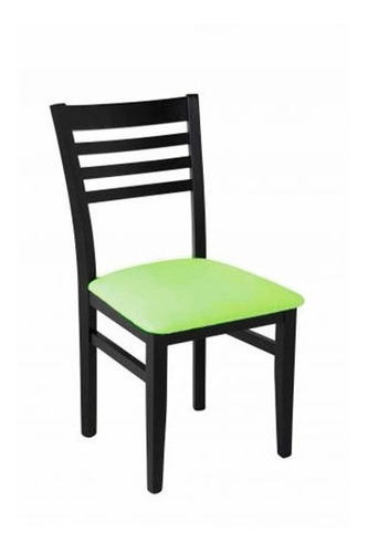 silla unican delfina wengue chenille verde center hogar