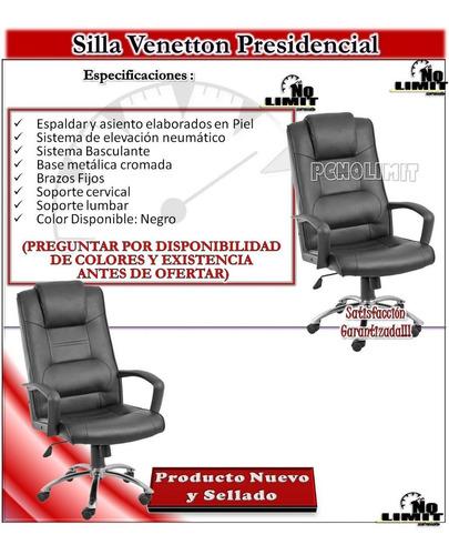 silla venetton presidencial, oficina sala pcnolimit mx