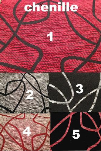 silla vestida lustre wengue tapizada en ecocuero