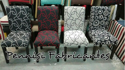 silla vestida tapizada en chenille reforzada fabrica