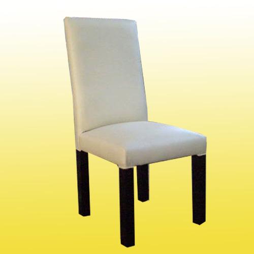 silla vestida tapizada en ecocuero