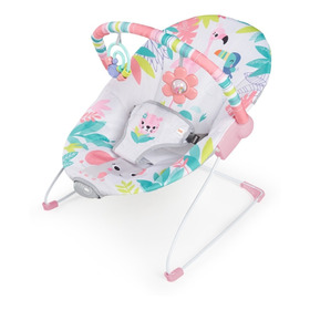 Silla Vibradora Bouncer Flamingo Bright Starts K12228