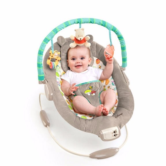 c69a34fb4 Silla Vibradora Musical Bouncer Bright Starts Pooh - $ 1,199.00 en ...