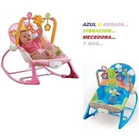Silla Vibradora Para Bebe 3 Posiciones Antirreflujo Sonajero