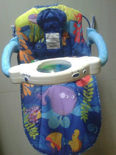 silla vibradora para bebes fisher price