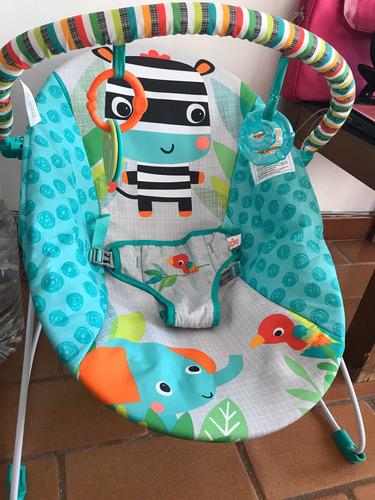 silla vibratoria para bebé marca bright starts