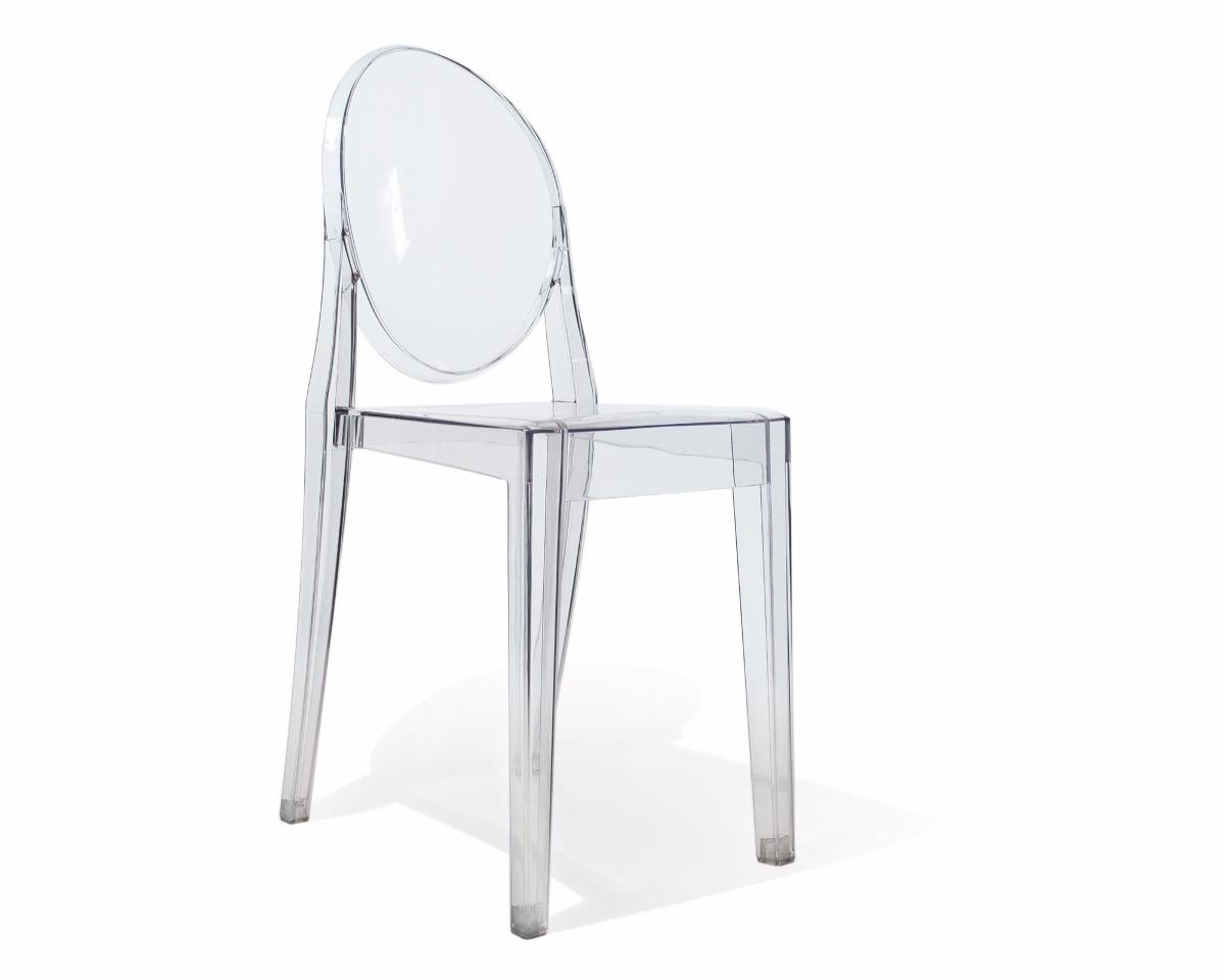 Silla Victoria Ghost Acrilico Transparente 245000 en Mercado