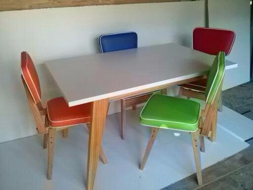 silla vintage americana retro fabrica fap santos lugares